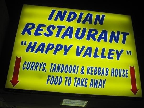Happy Valley Indian Restaurant : happy valley