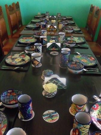 Casa Alebrijes Hotel : Dining