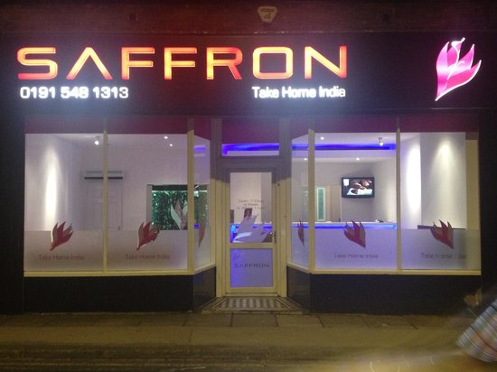 saffron Indian take out: Exterior picture