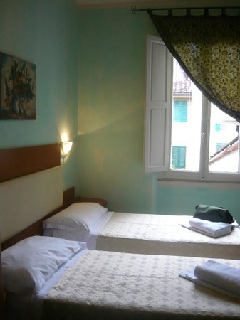 Twin room at Casa Billi