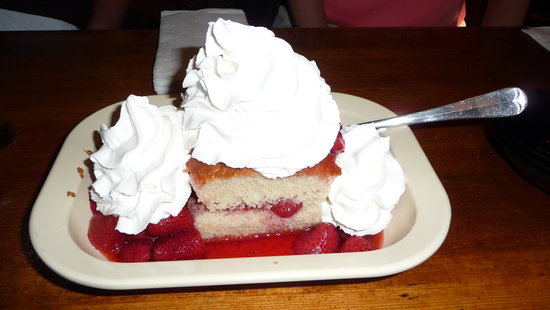 Horny Toad : Strawberry Shortcake - enough for 4