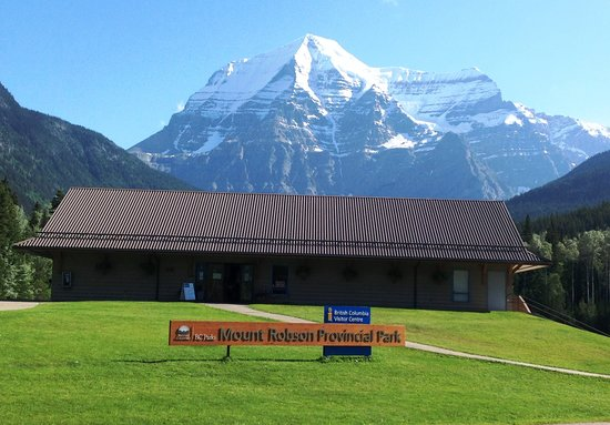 British Columbia Visitor Centre @ Mt Robson: Beautiful Day at the Mount Robson Visitor Centre