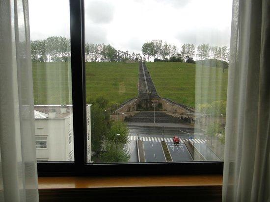 Hotel Exe Area Central: Vista desde la habitaciçon