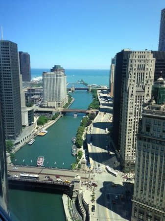 Chicago River Amp Lake Michigan Picture Of Trump
