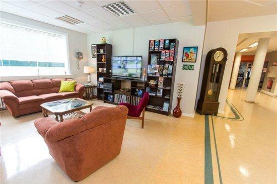 Hostel B47: Living Room