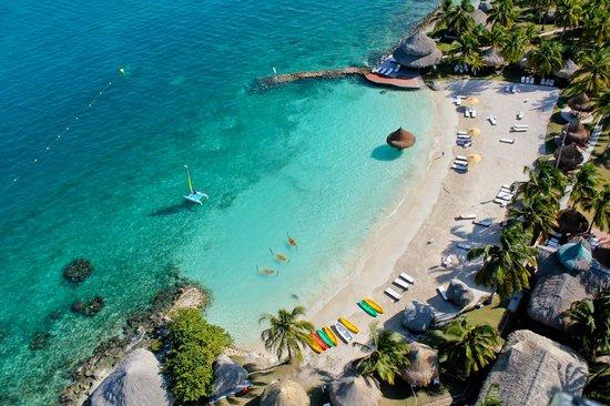 Isla Mucura, Colombia: PLAYA PUNTA FARO