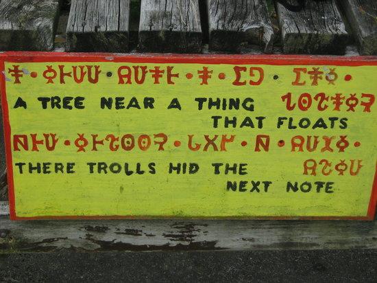 Tararua Tiki Tours Day Tours: Take part in a Troll Stroll, interpreting Troll clues