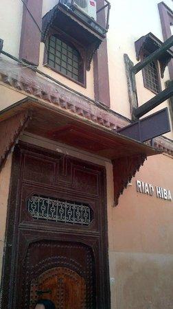 Riad Hiba Meknes: front door