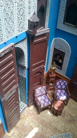 Riad Hiba Meknes: door to my room