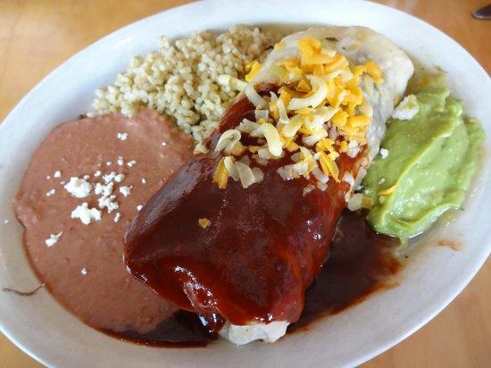 La Cocina de Luz: Delicious steak burrito
