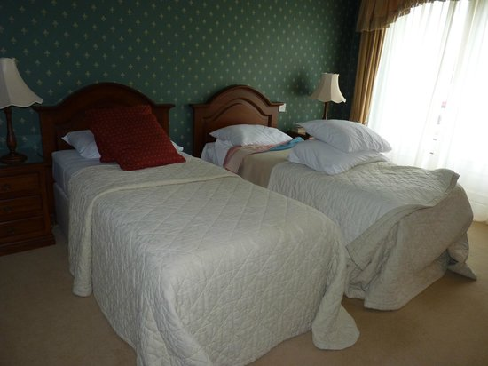 Sheedy's Country House Hotel: Twin Beds
