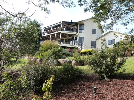 Launceston Bed and Breakfast Retreat: Private balcony