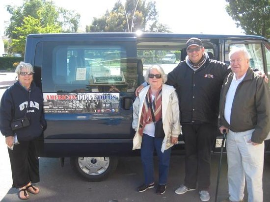 American D-day Tours: Dana, Glenda, Trevor & Bill