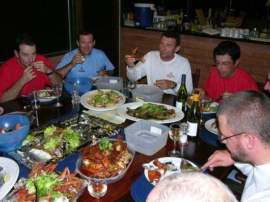 Arnhemland Barramundi Nature Lodge : Seafood Banquet