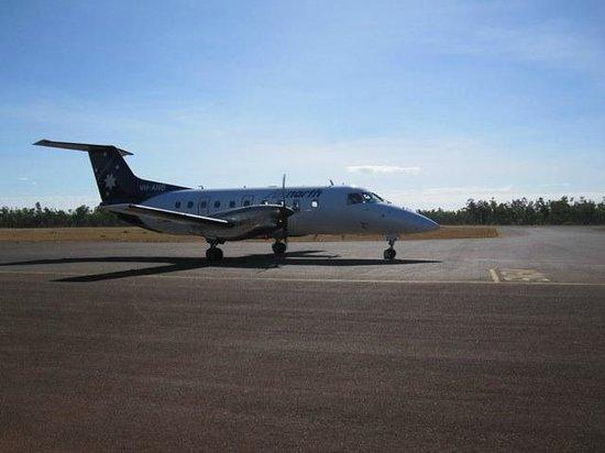 Arnhemland Barramundi Nature Lodge : Airnorth is the carrier that flies you in.