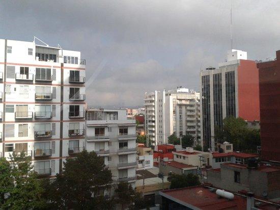 Hotel El Diplomatico: Vista desde la habitación