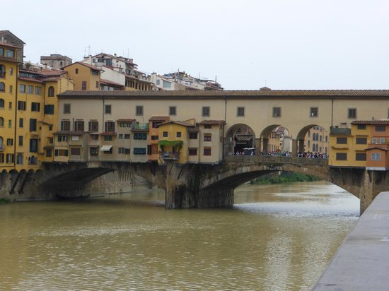 All Around Italy : Bridge that survived the War - Florence
