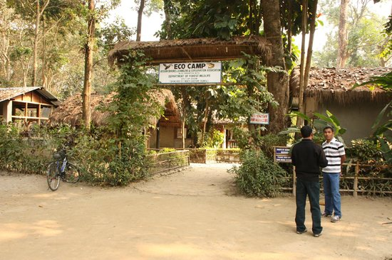 Entry to Nameri ECO Camp