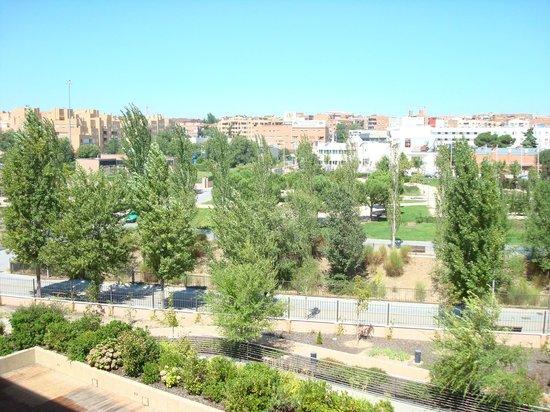 Eurostars Gran Madrid: vista desde la habitación