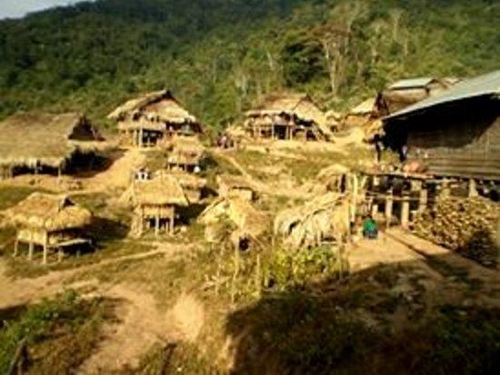 Along the Nam Tha - Private Day Tours: Akha village