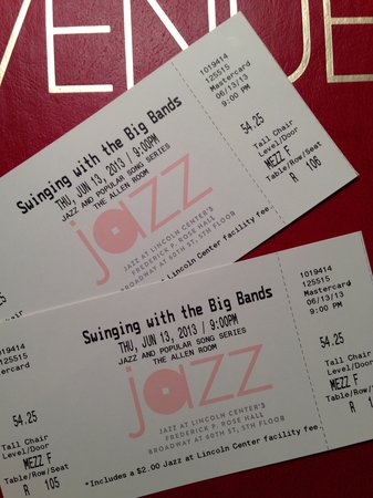 Jazz at Lincoln Center: Tickets