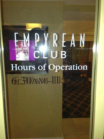 Hilton Virginia Beach Oceanfront : Club Lounge
