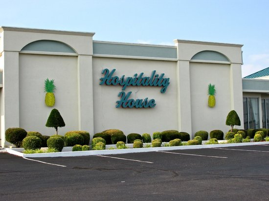 Hospitality House: Front of Motel