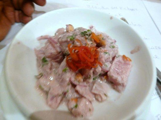 Varadero Pescados y Mariscos: Ceviche De Tuna