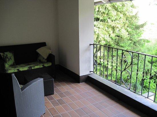 Hotel Restaurant Dreiflussehof: Hotel room balcony