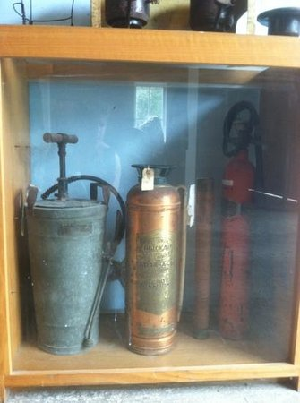 Key West Firehouse Museum : Fire extinguishers through the years