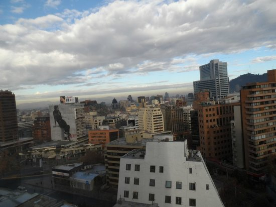 Atton Hotel El Bosque: View across town