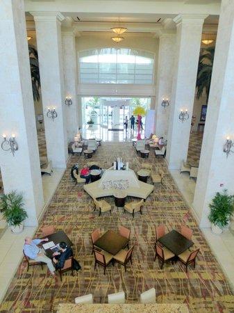 Tampa Marriott Waterside Hotel & Marina: Main Lobby