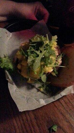 The Burger Stand: Black and Bleu burger