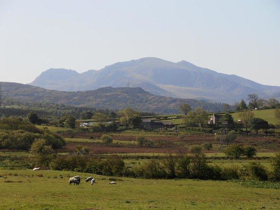 Ty Mawr Farm: View from Ty Mawr