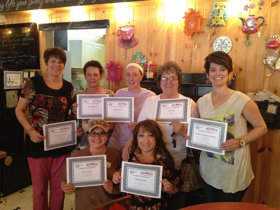 Tricia's Treasures Bistro: The staff at Tricia's Treasures and Bistro in Crandon, Wi