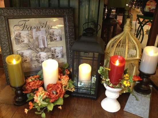 Tricia's Treasures Bistro: Luminara Candles available at Tricia's Treasures and Bistro