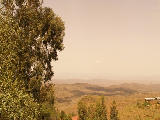 Lal Hotel Lalibela: view from my room