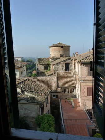 Hotel Fortuna: View from our Window (Room 501)