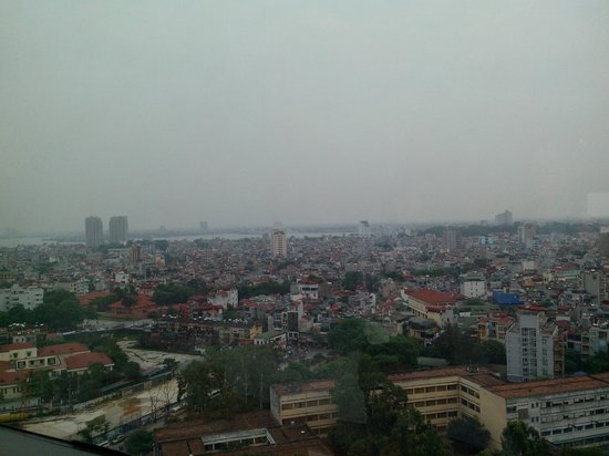 Hanoi Hotel: view from room 2