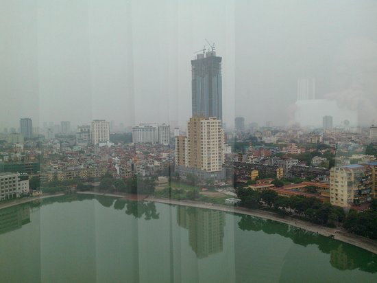 Hanoi Hotel : view from room 1