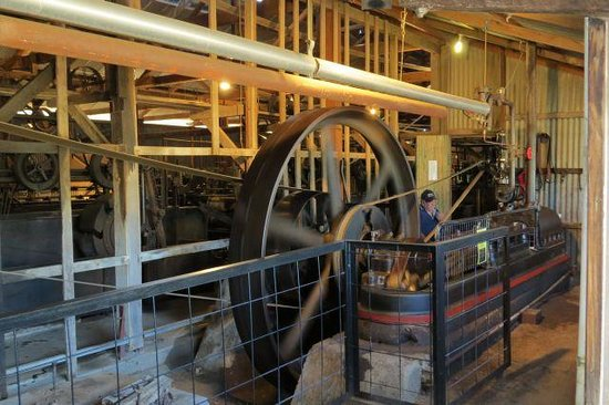 Steam Engine Blackall Woolscour