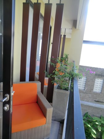 100 Sunset Boutique Hotel : Balcony