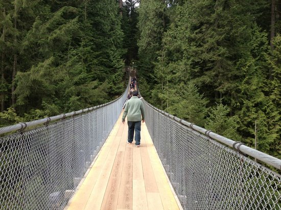 Vancouver-Nord, Canada : Capilano Suspension Bridge