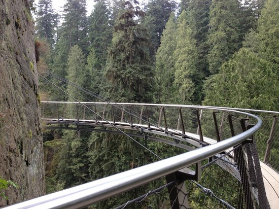 North Vancouver, Canada: Skywalk