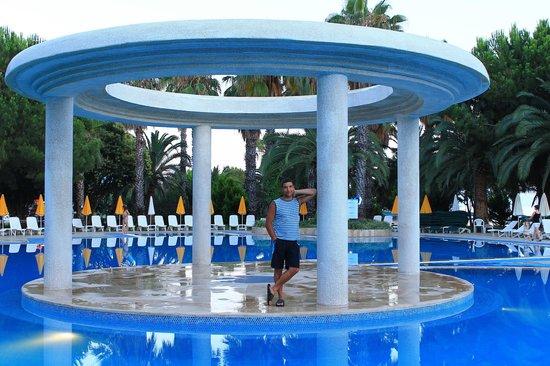 Hotel Ozkaymak Incekum: У бассейна