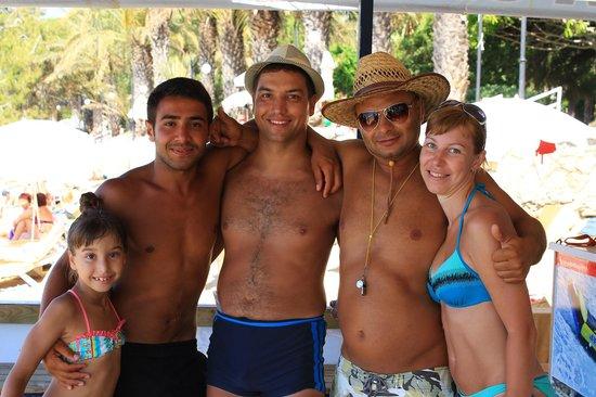 Hotel Ozkaymak Incekum: Ребята с водных видов спорта
