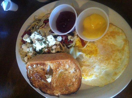 The Garnet Cafe: Spagetti n Eggs
