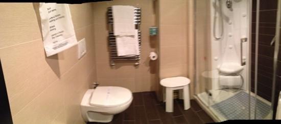 BEST WESTERN Hotel Principe : bath view