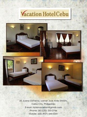 Vacation Hotel Cebu: Rooms