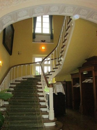 Hotel Schloss Westerholt: grand escalier